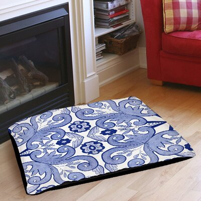 Chinoiserie Swatch 4 Indoor/Outdoor Pet Bed Size: 28 L x 18 W