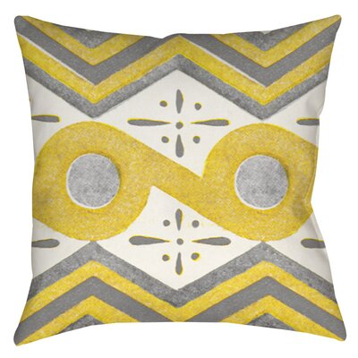 Salzman Indoor/Outdoor Throw Pillow Size: 16 H x 16 W x 4 D