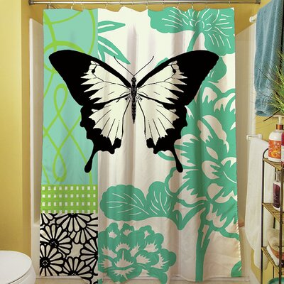 Butterfly Journey I Shower Curtain