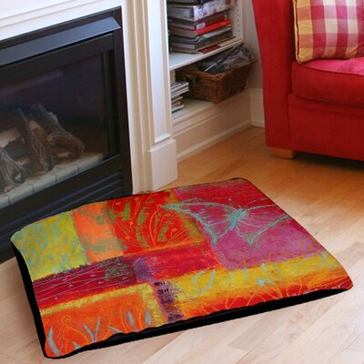 Butterfly Impressions Indoor/Outdoor Pet Bed Size: 28 L x 18 W