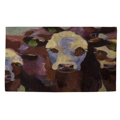 Class Picture Brown Area Rug Rug Size: 2 x 3
