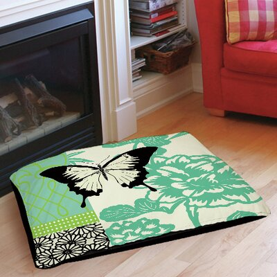 Butterfly Journey 1 Indoor/Outdoor Pet Bed Size: 28 L x 18 W
