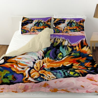 Calico Dreams Duvet Cover Size: King