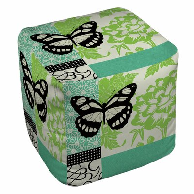 Butterfly Journey Pouf