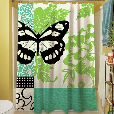 Butterfly Journey II Shower Curtain