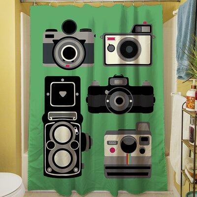 Cameras Shower Curtain