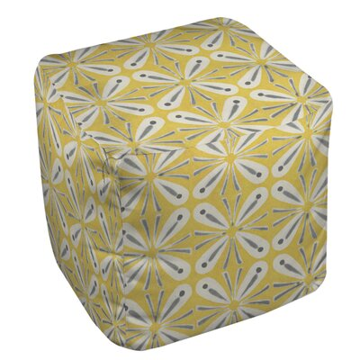Citron and Slate 1 Ottoman