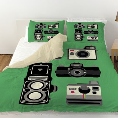 Cameras Duvet Cover Size: Twin