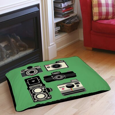 Cameras Indoor/Outdoor Pet Bed Size: 28 L x 18 W