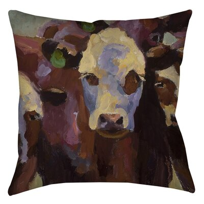 Class Picture Indoor/Outdoor Throw Pillow Size: 18 H x 18 W x 5 D