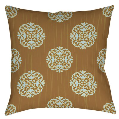 Bold in Blue Medallion Printed Throw Pillow Size: 16 H x 16 W x 4 D
