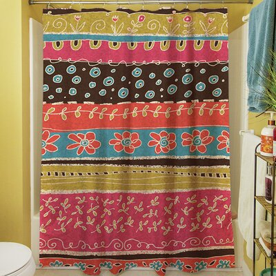 Dream Big Bohemian Shower Curtain