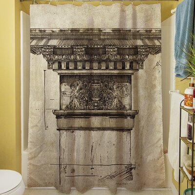 Column I Shower Curtain