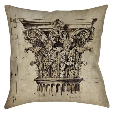 Column II Indoor/Outdoor Throw Pillow Size: 20 H x 20 W x 5 D