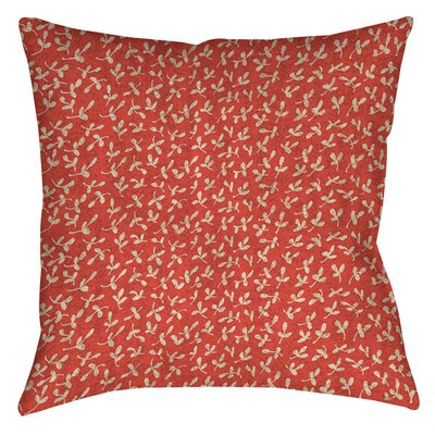 Dream Big Ditsy Florals Indoor/Outdoor Throw Pillow Size: 16 H x 16 W x 4 D