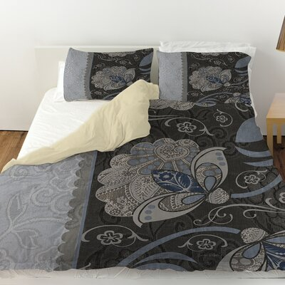 Elegante 4 Duvet Cover Size: King