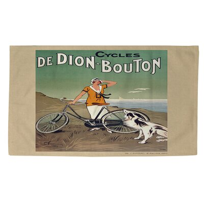 Cycles De Doin Bouton Area Rug Rug Size: 2 x 3