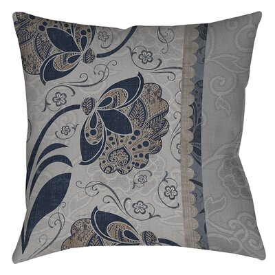 Elegante 5 Printed Throw Pillow Size: 26 H x 26 W x 7 D