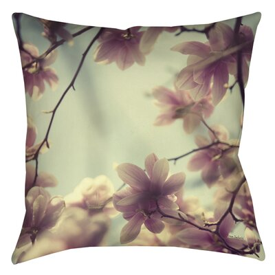 Daydream Believers Printed Throw Pillow Size: 16 H x 16 W x 4 D