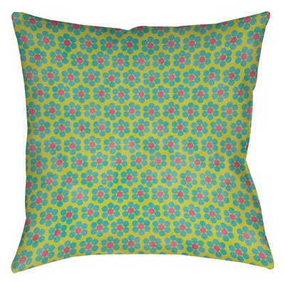 Emilys Ditsy Garden Printed Throw Pillow Size: 14 H x 14 W x 3 D