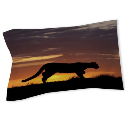 Cougar Silhouette Sham Size: Queen/King