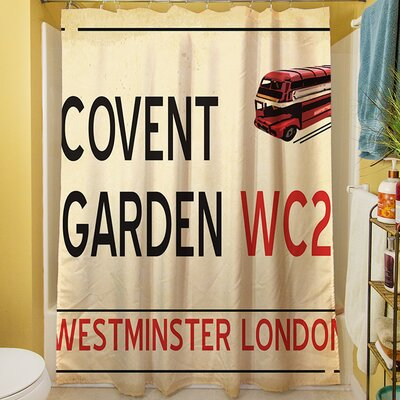 Covent Garden Shower Curtain