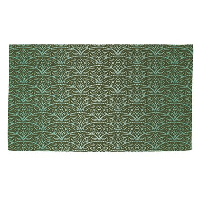Dream Big Arches Green Area Rug Rug Size: 2' x 3'