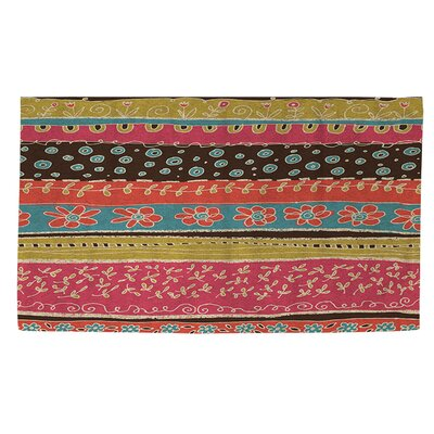 Dream Big Bohemian Pink Area Rug Rug Size: 4 x 6