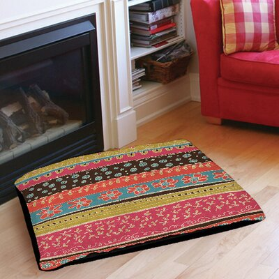 Dream Big Bohemian Indoor/Outdoor Pet Bed Size: 28 L x 18 W