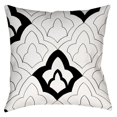 Divisible 1 Printed Throw Pillow Size: 14 H x 14 W x 3 D