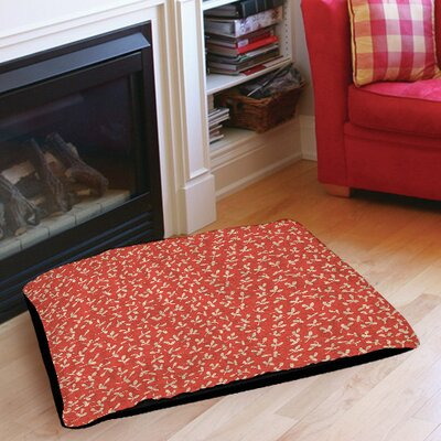 Dream Big Ditsy Florals Indoor/Outdoor Pet Bed Size: 28 L x 18 W