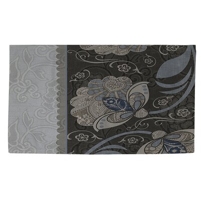 Elegante 4 Gray Area Rug Rug Size: 2 x 3
