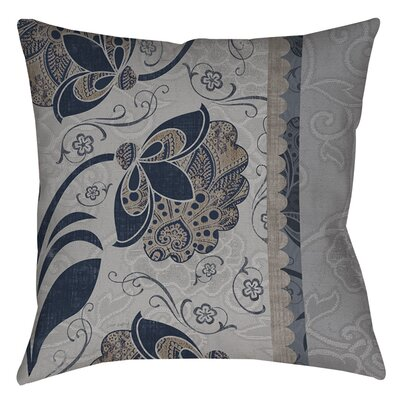 Elegante 5 Indoor/Outdoor Throw Pillow Size: 18 H x 18 W x 5 D