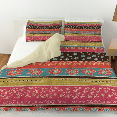 Dream Big Bohemian Duvet Cover Size: King