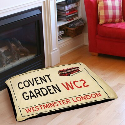 Covent Garden Indoor/Outdoor Pet Bed Size: 50 L x 40 W