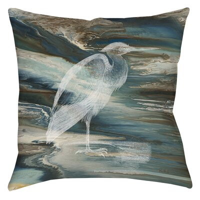 Cruising Printed Throw Pillow Size: 16 H x 16 W x 4 D