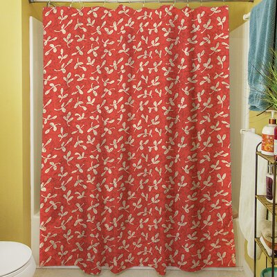 Dream Big Ditsy Florals Shower Curtain