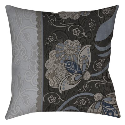 Elegante Indoor/Outdoor Throw Pillow Size: 18 H x 18 W x 5 D