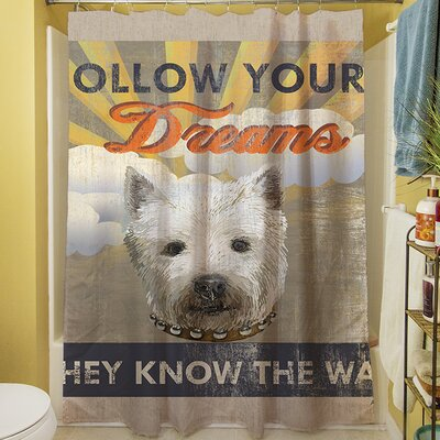 Dog Days - Pek Pup Shower Curtain