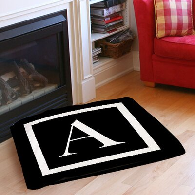 Classic Block Monogram Indoor/Outdoor Pet Bed