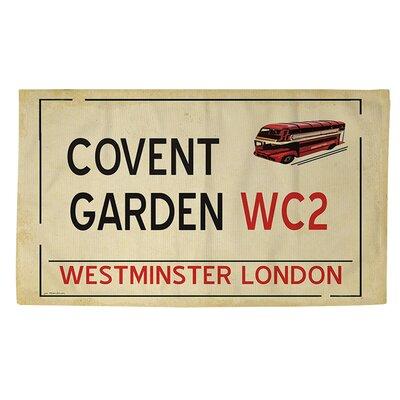 Covent Garden Beige Area Rug Rug Size: 2 x 3