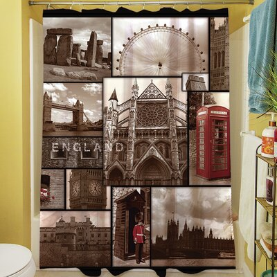 England Shower Curtain