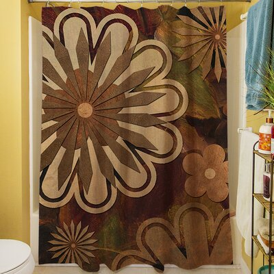 Floral Abstract I Shower Curtain