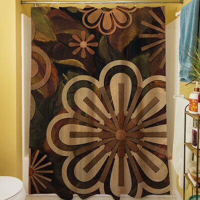 Floral Abstract II Shower Curtain
