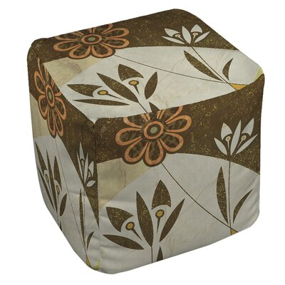 Graphic Garden Savannah Ottoman