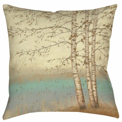 Addis Square Printed Throw Pillow Size: 26