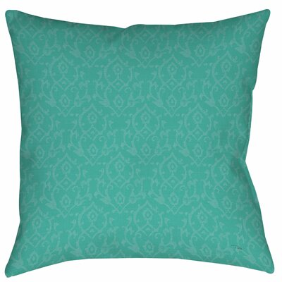 Flowing Damask Printed Throw Pillow Size: 18 H x 18 W x 5 D