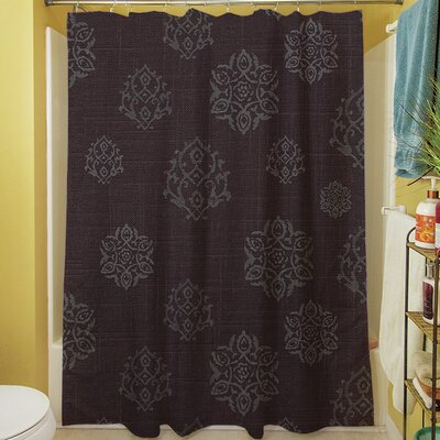 Flowing Medallion Shower Curtain