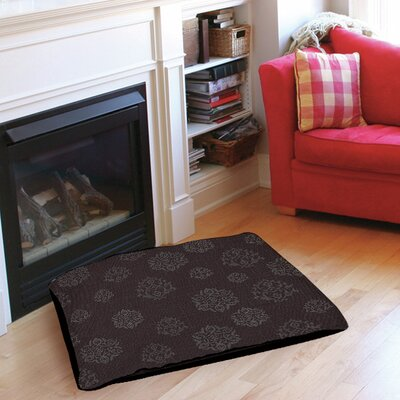 Flowing Medallion Pet Bed Size: 28 L x 18 W