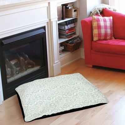 Flowing Damask 2 Pet Bed Size: 28 L x 18 W